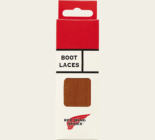 Red Wing Heritage Leather Boot Laces (Chestnut)