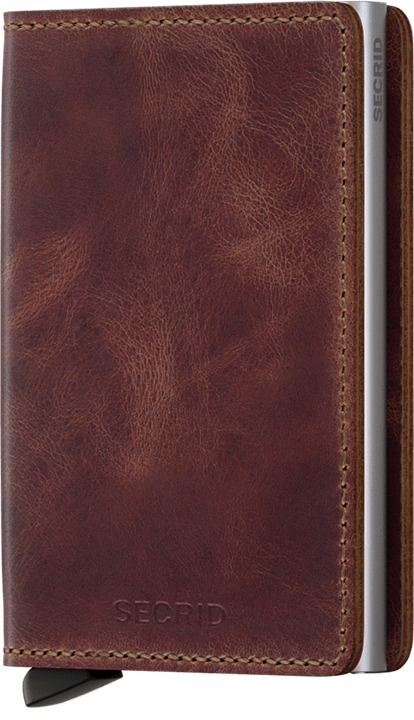 Secrid Slimwallet (Vintage Brown) - Totem Brand Co.