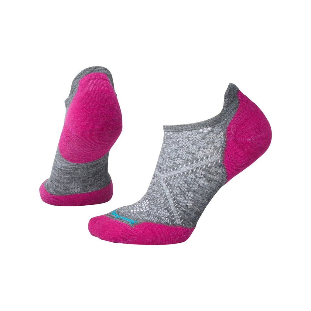Smartwool Women's PhD Run Light Elite Micro Socks - Medium Gray