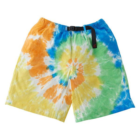Gramicci Tie Dye Women's G-Shorts - Orange Spiral