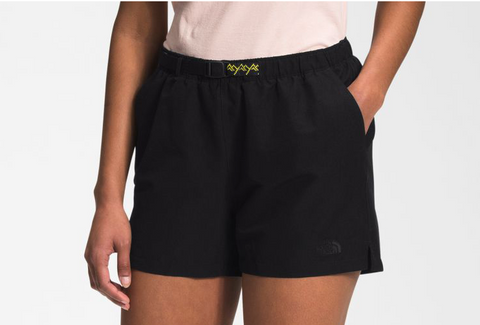 The North Face Women's Class V Belted Short - TNF BLACK