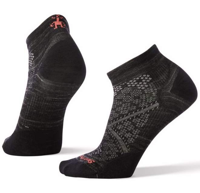 Smartwool Women's PhD® Run Ultra Light Low Cut Socks - Black