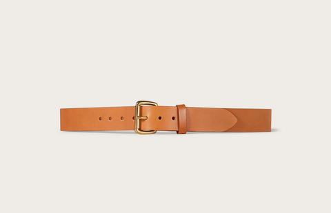 "Filson 1-1/2"" Leather Belt (Tan)"