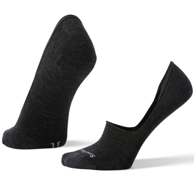Smartwool Women's Hide And Seek No Show Socks - Charcoal