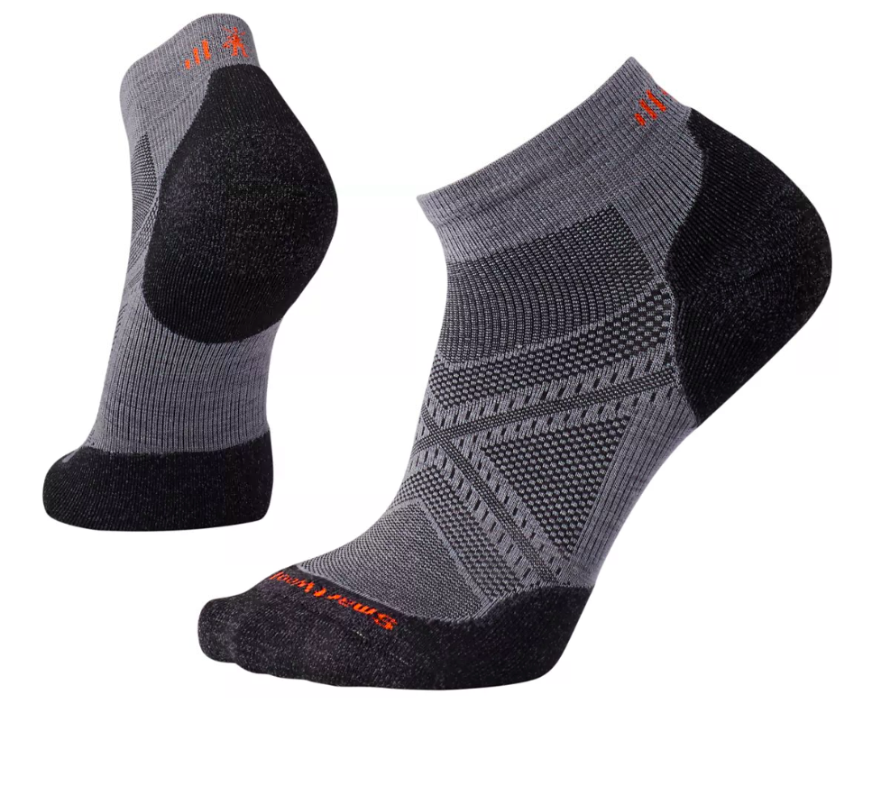 Smartwool Men's PhD® Run Light Elite Low Cut Socks - Graphite
