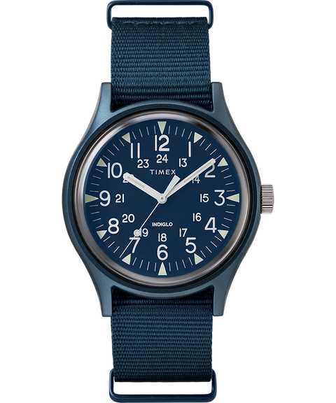 Timex MK1 Aluminum 40mm Fabric Watch - Blue