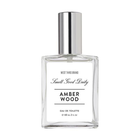 West Third Brand Smell Good Daily - Amber Wood