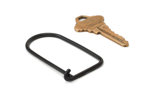 Craig Hill Wilson Keyring - Carbon (Black) - Totem Brand Co.