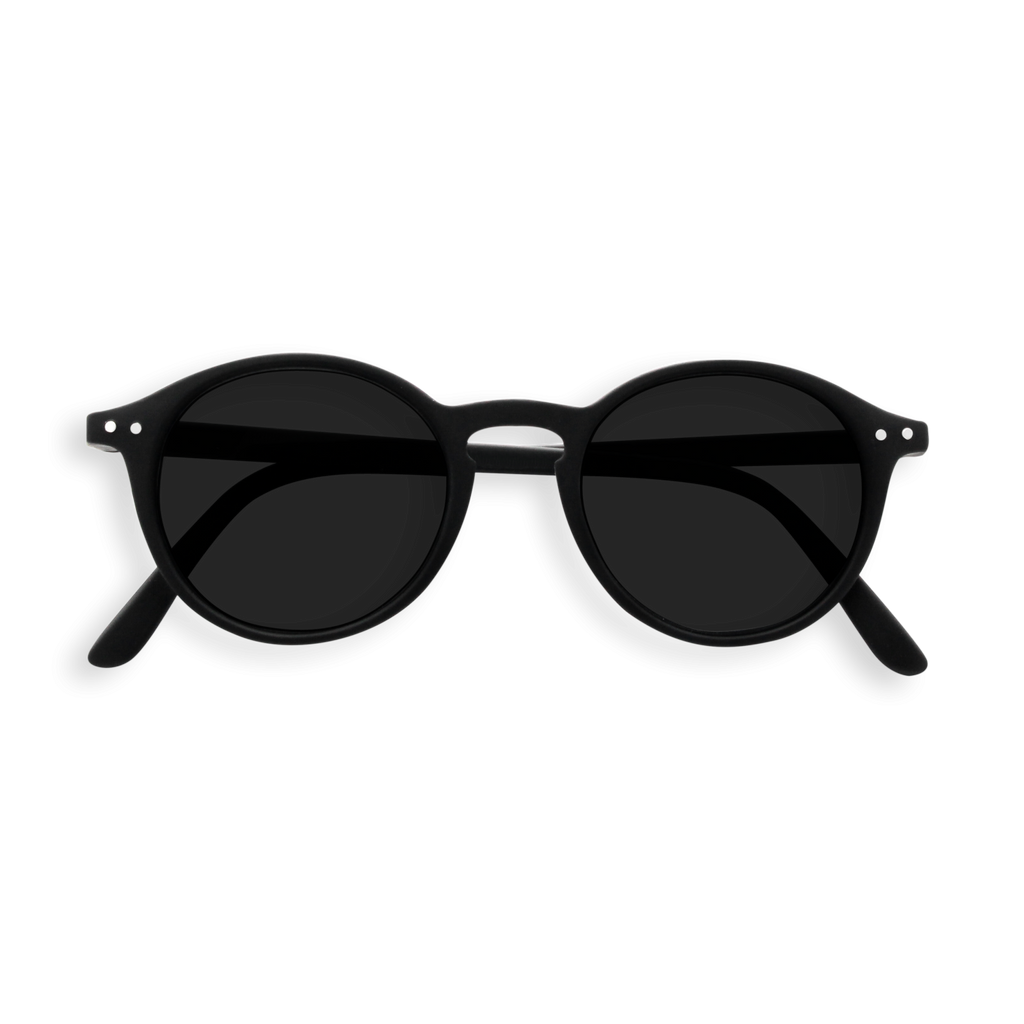 Izipizi Sunglasses #D Soft Grey Lenses - Black