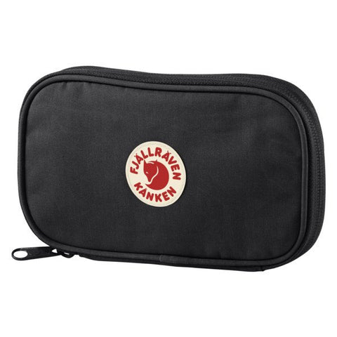 Fjallraven Kanken Travel Wallet - Black
