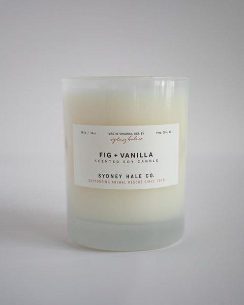 Sydney Hale 14 oz Candle - Fig + Vanilla