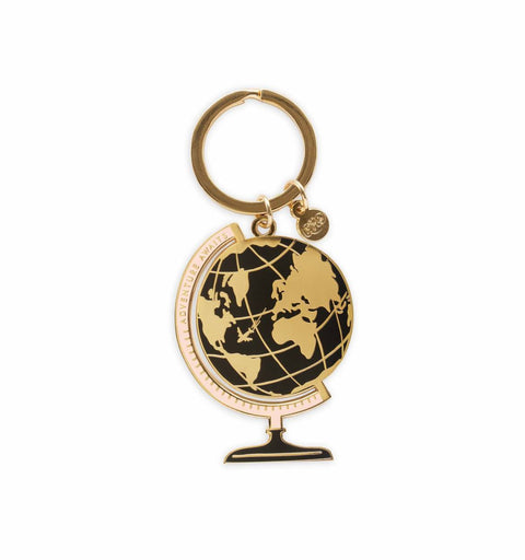 Rifle Paper Co. Enamel Keychain - Globe - Totem Brand Co.