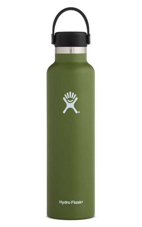 Hydro Flask 24 oz. Standard Mouth Water Bottle - Olive