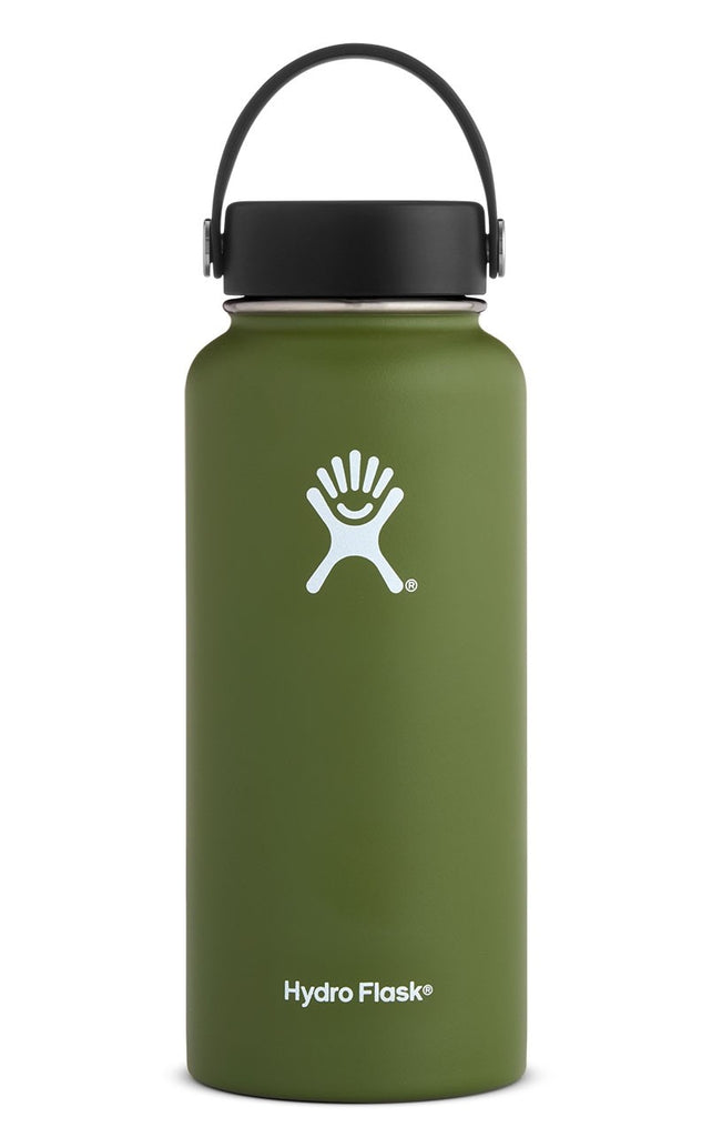 Hydro Flask 32 oz. Wide Mouth Water Bottle - Olive