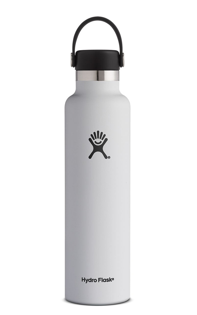 Hydro Flask 24 oz. Standard Mouth Water Bottle - White