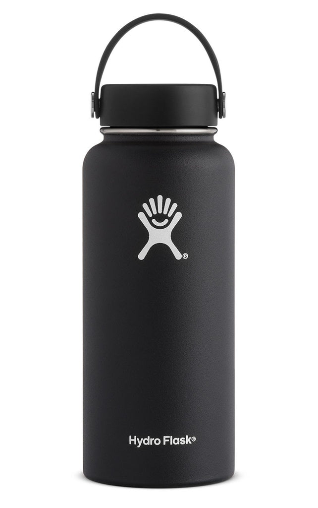 Hydro Flask 32 oz. Wide Mouth Water Bottle - Black