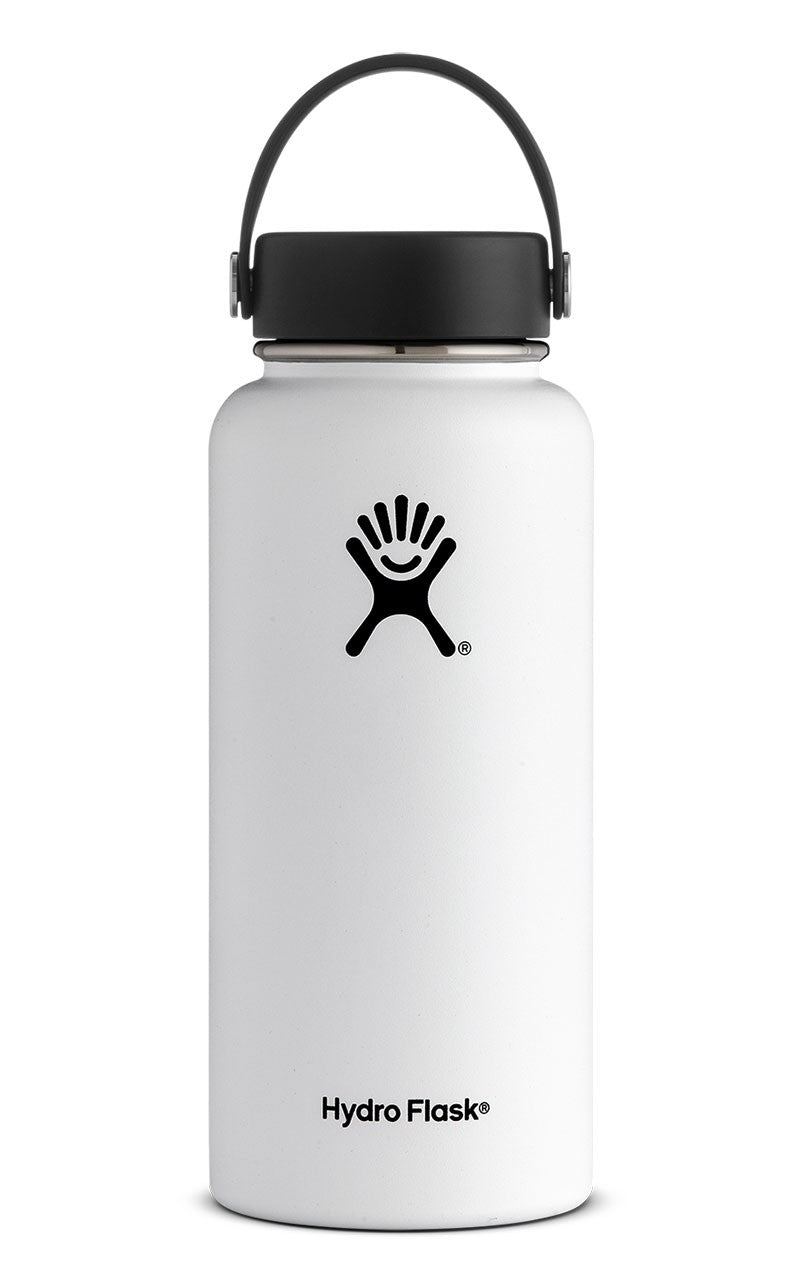 Hydro Flask 32 oz. Wide Mouth Water Bottle - White