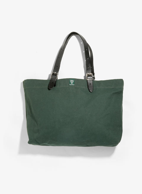 South2 West8 18oz Canvas Canal Park Tote - Classic - Hunter Green
