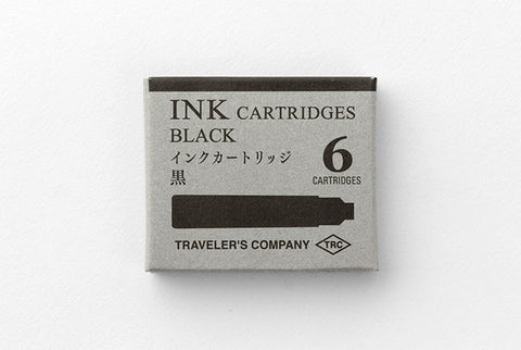 TRAVELER'S Company TRC Fountain Pen Ink Refill - Black - Totem Brand Co.