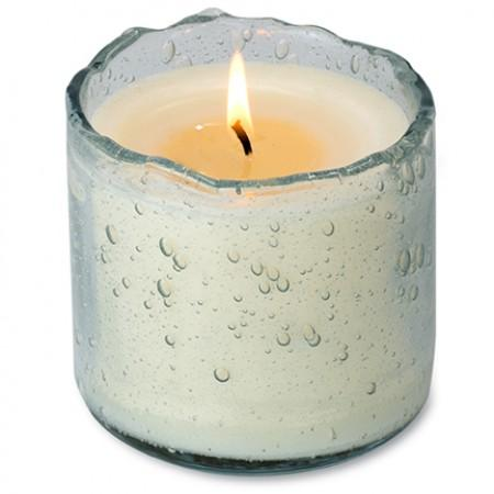 Himalayan Candle - Sugared Lemon - Clear Bubble Glass