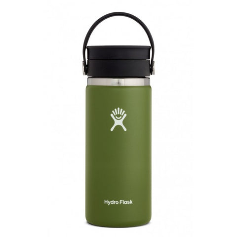 Hydro Flask 16 oz. Wide Mouth Flex Sip Lid - Olive