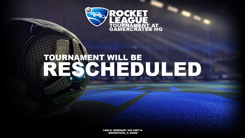 1v1 Rocket League Tournament | Rescheduled