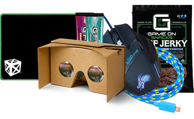 """September """"Gear"""" GamerCrate - GamerCrates the monthly eSports & Gaming Subscription Box"""