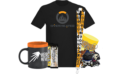 """July """"Overwatch"""" GamerCrate - GamerCrates the monthly eSports & Gaming Subscription Box"""
