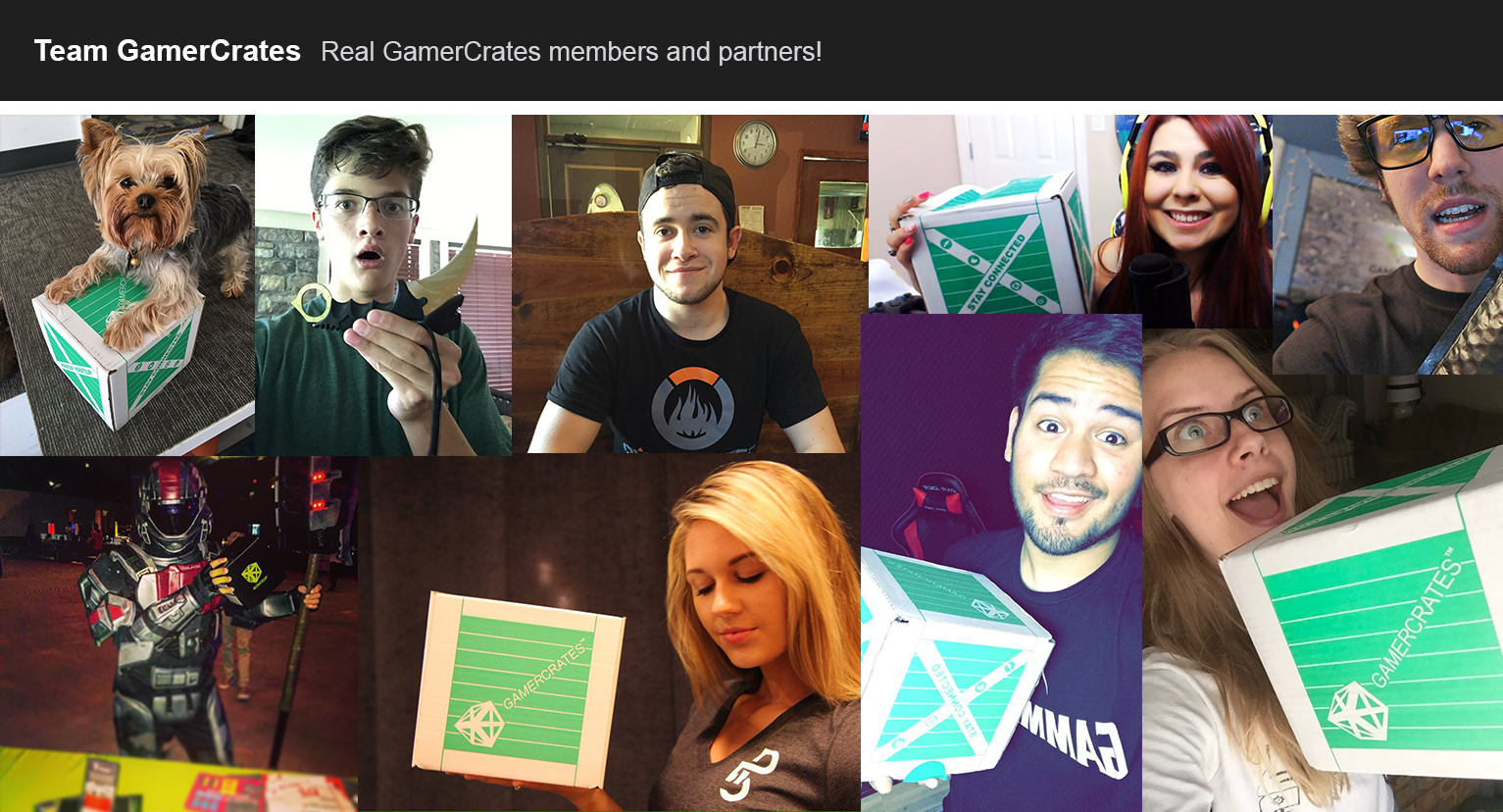 GamerCrates, Monthly eSports & Gaming Subscription Box, Jack the CEO, SoaR Butters, Platinum 5 Studios