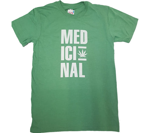 Medicinal - Green Novelty Shirt