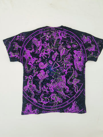 Constellations - Glow In The Dark Liquid Blue Shirt