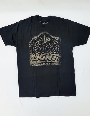 Coors Light- Cold Certified Distressed Shirt