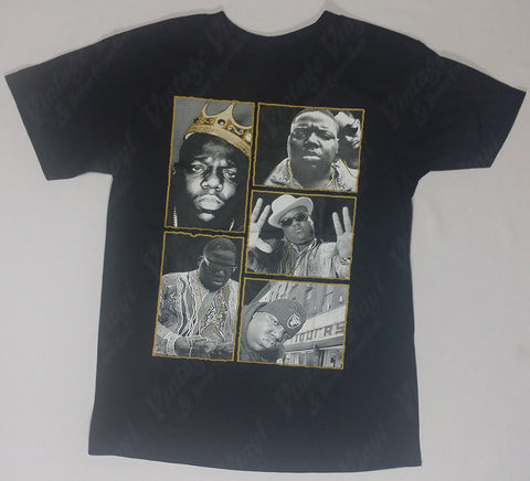 Notorious B.I.G. - Five Panel Portraits Shirt