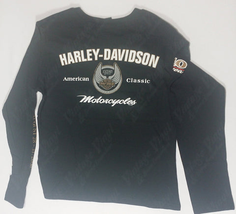 Harley Davidson - Winged Crest Womens Long Sleeve Shirt
