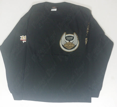 Harley Davidson - Winged Crest Long Sleeve Shirt