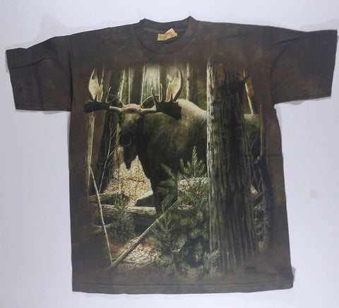 Moose - Walking Through Trees Mountain Shirt