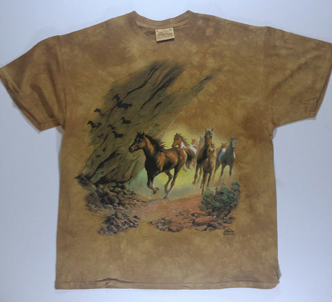 Horses - Rocky Stampede Mountain Shirt