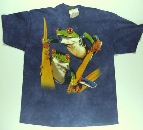 Frogs - Red-Eyed Tree Frogs Mountain Shirt