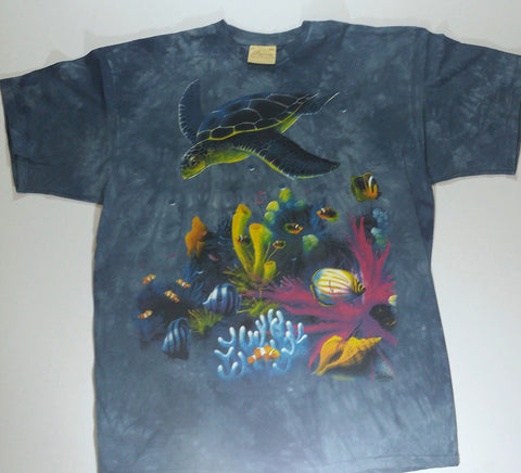 Sea Turtles - Swimming Over Coral Mountain Shirt