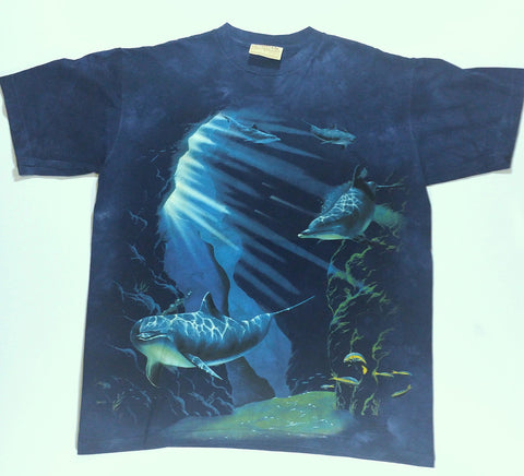 Dolphins - Swimming In Trench Mountain Shirt