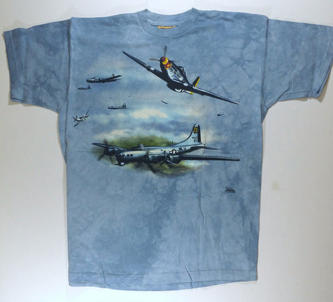 Airplanes - Fighter Planes Mountain Shirt