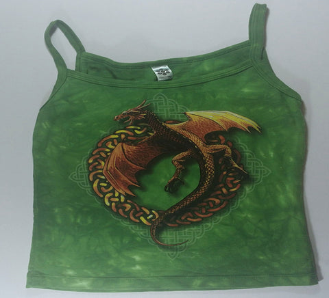 Dragons - Celtic Knots Womens Tank Top Mountain Shirt