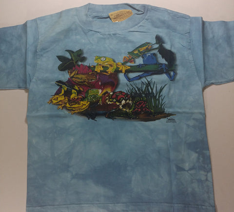 Frogs - Assorted Frogs Youth Mountain Shirt