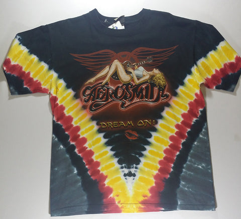 Aerosmith - Dream On Liquid Blue Shirt