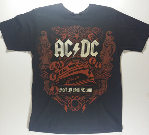 AC/DC - Rock n' Roll Train Liquid Blue Shirt