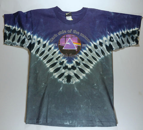 Pink Floyd - Dark Side '73-'03 V Liquid Blue Shirt
