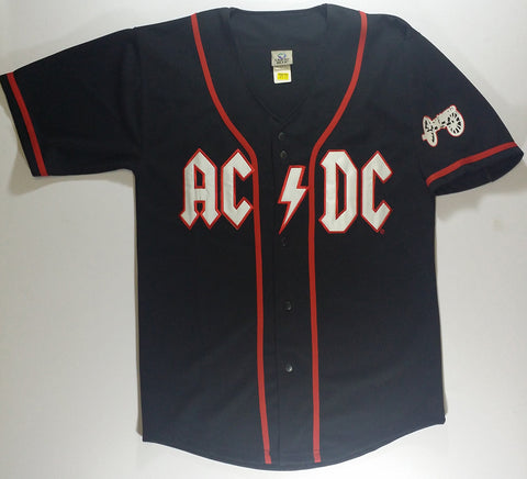 AC/DC - Baseball Jersey Liquid Blue Shirt