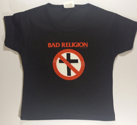 Bad Religion - Cross Logo Girlie Shirt