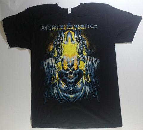 Avenged Sevenfold - Reaper Holding Crown Over Head Shirt