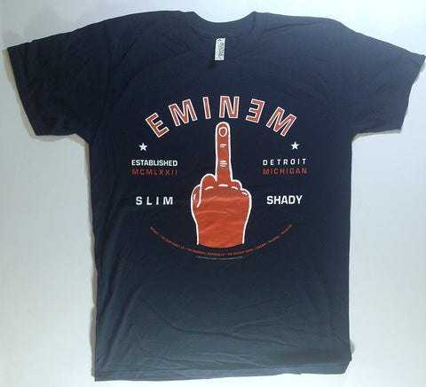 Eminem - Red Hand Giving The Finger Shirt